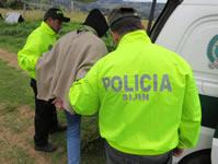 Policía captura a alias el 'Topo'