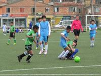 Arrancó el I campeonato de minifútbol 'Copa Varón del Sol'