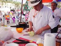 Fusa  vivió el primer  Festival Gastronómico de la Rumba Criolla