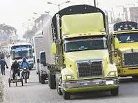 Decreto de transporte de carga empieza a regir el 30 de diciembre