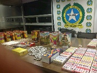 En Soacha incautan mercancía a compradores de pólvora