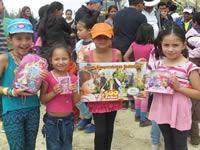 Con regalos y actividades lúdicas niños de la comuna cuatro celebraron la navidad