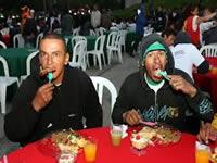 Zipaquirá celebró navidad con sus habitantes de calle