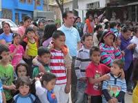Concejal  Ospina celebró la navidad con los niños de La Florida