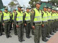 Con la entrega de cien nuevos patrulleros, Soacha completó 740 uniformados