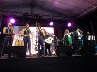 Luces, música y fiesta en la bienvenida a Transmilenio en Soacha