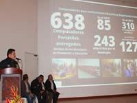 Alcalde de Madrid rindió cuentas a la comunidad