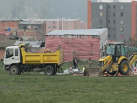 Municipio recupera zona de protección ambiental en el Humedal Neuta