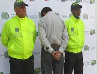 Policía de Cundinamarca captura a alias «Joselito»