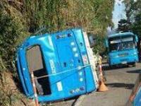 Fuera de peligro la mayoría de heridos de accidente en Mesitas
