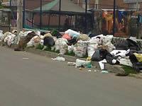 Aseo Internacional recogió basuras que  llevaban más de quince días en el parque de Quintas de la Laguna