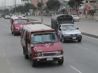 Modificado el pico y placa para transporte público del municipio de Soacha