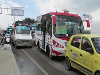 Inseguridad sigue al acecho en el transporte público de Soacha
