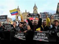 Cierres viales por marcha en apoyo a Gustavo Petro