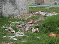 Escombros y basura, dolor de cabeza para los habitantes del Nuevo Compartir