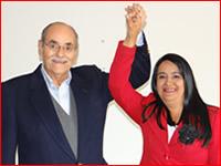 Serpa  y  Luz Marina Velásquez acuerdan alianza por Soacha