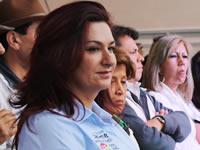 Fabiola Jácome lanzó su campaña en Soacha