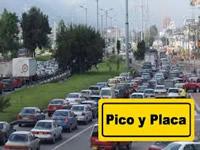 Pico y placa especial para vehículos con tres pasajeros