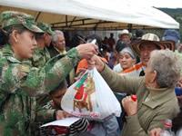 En Faca el ejército adelanta campañas sociales