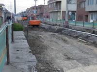 Atrasos y demoras en obras de la vía paralela de Soacha