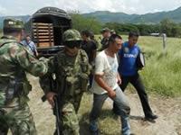 Capturan a presunto colaborador de las FARC