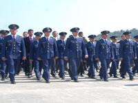 En Madrid, fuerzas aéreas recibieron nuevos aprendices
