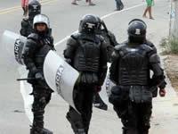 Asonada en Sibaté deja nueve policías y ocho  civiles  heridos