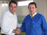 Oswaldo Córdoba respalda candidatura de Jorge González al Senado