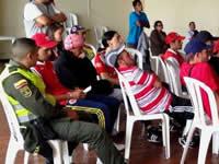 Jóvenes de barras bravas de Soacha  crearán  microempresas
