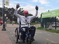 ELC patrocina a atleta en condición de discapacidad