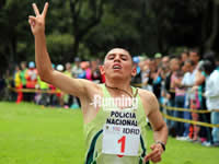 Zipaquireño campeón de la copa cross country