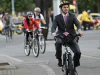 Bogotá vive hoy otra jornada del 'Día sin carro'