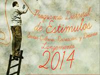 Distrito lanza su programa de estímulos artísticos