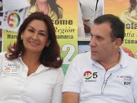 Fabiola Jácome y Roy Barreras visitaron Soacha