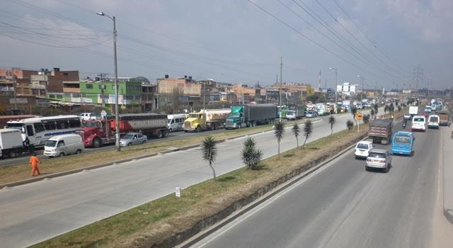 Transportadores de Soacha cancelaron paro previsto para este miércoles