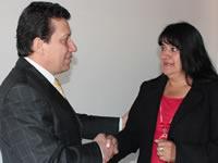 Luz Marina Velásquez recibe respaldo del médico Oswaldo Córdoba