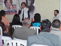 Betty Zorro consolida  su trabajo en Soacha y Cundinamarca