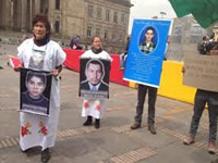 Madres de Soacha reafirman sus peticiones al presidente Santos