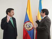Luis Fernando  Ayala Pabón asume la gobernación de Cundinamarca