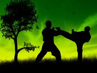 Policía de Soacha crea escuela de Taekwondo