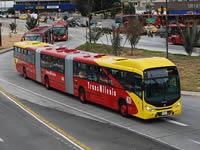 Transmilenio utilizará  buses biarticulados en Soacha