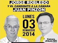 Robledo hará cierre de campaña en Soacha