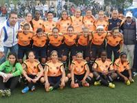 Selección Colombia femenina sub 17 visitó Soacha