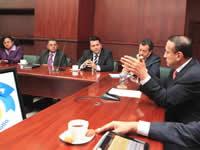 Transportadores de Soacha y Sibaté se reunieron con el gobernador Álvaro Cruz