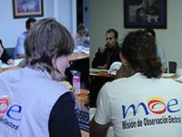 Elecciones de hoy  tendrán más de 3.700 observadores de la MOE