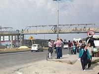 Sólo cuatro de los 13 puentes peatonales  que se deben construir en Soacha están en servicio