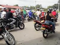 Motociclistas de Fusagasugá inconformes por decreto municipal