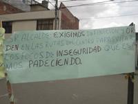 Habitantes de comuna dos exigen rehabilitación de sus vías internas