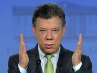 Cuatro frentes de trabajo para Bogotá anunció presidente  Santos