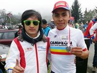 Soacha sobresale con el equipo élite de ciclismo
